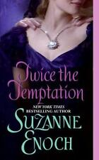 Avon Romance: Twice the Temptation by Suzanne Enoch (2007, Paperback)