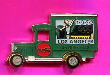 1996 OLYMPIC COCA COLA TRUCK PIN LOS ANGELES 1932 OLYMPIC TRUCK PIN