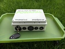 Powapal mk3r+12v Portable Power Station per pesca della carpa Bivvy Power Pack mobile