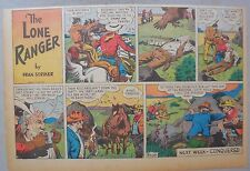 Lone Ranger Sunday Page by Fran Striker and Charles Flanders from 4/7/1940