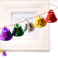 10Pcs Small Bell Christmas Tree Ornaments Bell Christmas DIY Crafts Accessories