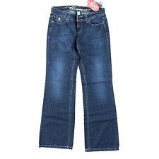 Esprit Damen-Jeans im Weites Bein-Stil aus Denim