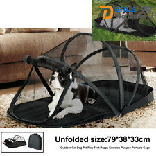 Outdoor Indoor Cat Dog Pet Play Tent Puppy Exercise Playpen Portable Cage