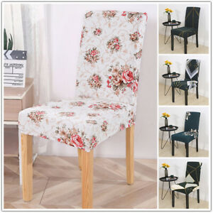 Removable Stretch Chair Cover Slipcover Washable Ceremony Hotel Dining Room Deco