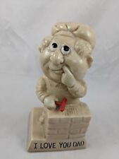 Wallace Russ Berrie I Love You Dad Statue 1971