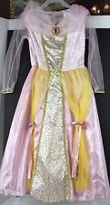 SLEEPING BEAUTY Princess Aurora Dress Costume Small Size 4-6  EUC