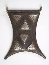 African TRIBAL TUAREG tcherot Amuleto Ciondolo. provenienza
