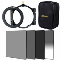 ZOMEI 150*100mm Neutral Density Filter ND2+4+8+GND16+67mm Ring+Holder Cokin Z