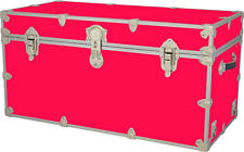 Rhino Storage Trunk Footlocker 35x17x17 for Camp, College & Dorm. USA Made