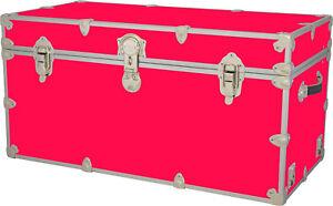 Rhino Storage Trunk Footlocker 35x17x17 for Camp, College & Dorm. USA Made