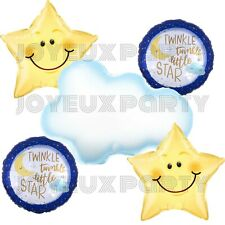 Twinkle Little Star Party Kit Backdrop, Baby Shower, Kid Birthday Party Supplies