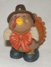 Hallmark Merry Miniature 1995 Thanksgiving Pilgrim Turkey with Bow