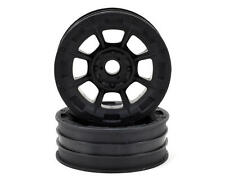 "JCO3358B JConcepts Hazard 1.9"" RC10 Front Wheel (Black) (2)"