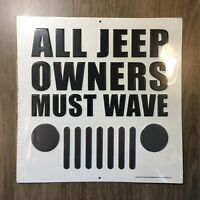 Rubicon Wrangler JEEP American Legend Since 1941 Domed Button Tin Metal Sign