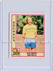 "RARE !! PATRICK REVELLI Sticker ""FOOTBALL 1980 FRANCE"" Panini"