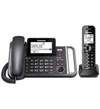 Panasonic KX-TG9581B 2-Line Expandable Phone System Black