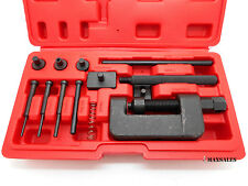 CAM CHAIN BREAKER BREAKING RIVET PRESS RIVETING TOOL KIT DRIVE LINK SEPERATOR