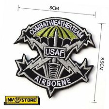 Patch Ricamata USAF Air Force USA America 8 x 8,5 Militare Softair con Velcro