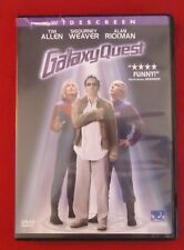 Galaxy Quest Dvd 2000 Widescreen Tim Allen, Alan Rickman, Sigourney Weaver