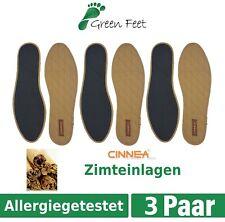 Cinnea Zimteinlagen Zimt Sohle Einlegesohlen Zimtsohlen Schuheinlagen 36-48