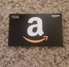 $200 AMAZON GIFT CARD **SHIPS FREE AND FAST**