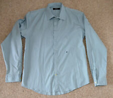 NEW REPLAY CLASSIC LONG SLEEVE CASUAL SLIM FIT SHIRT TURQUOISE M4921 M80279A M