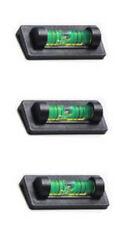 3 Ridgeback Magnetic Magnet Bubble Spirit Level 23mm Vial Ideal for TV Mounts