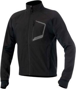 ALPINESTARS TECH Windproof Layering Jacket w/Thermal Lining (Black) Choose Size