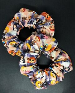 Handmade Labyrinth Hair Scrunchies