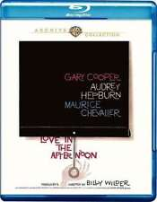 Love in the Afternoon 1957 (Blu-ray) Audrey Hepburn, Gary Cooper - New!