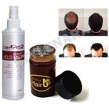 45g DARK BROWN JAPAN Hair Loss Concealer Building Fibers & Power Hold Mist Spray
