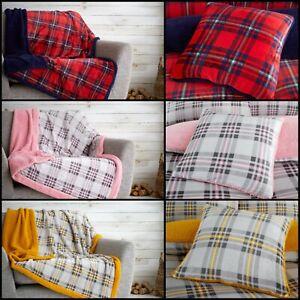 Christmas Teddy Fleece Sherpa Highland Mink Sofa Couch Throw Bed Spread Blanket