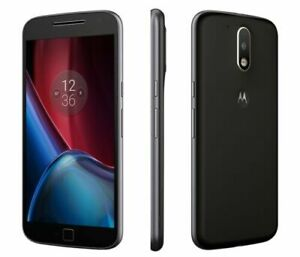 Motorola Moto G4 plus 4th Generation XT1642 - 16GB - Black (Unlocked) Smart