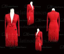 LATINO/SALSA/CHA-CHA-CHA DANCE DRESS  COMPETITION  WITH HIGH QUALITY STONE M445