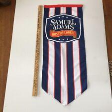 Samuel Adams Boston Lager Beer Signs American Flag Banners point of sale
