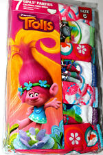 Troll's  Girls  Panties 7 Pieces Size 6
