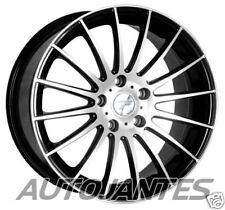 4 JANTES ALU EN 17 POUCES TFT VERTIGO NOIR POLI,BMW SERIES 1,3 E36,E46,E90,Z3,Z4