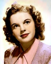 "JUDY GARLAND ACTRESS SINGER HOLLYWOOD MOVIE STAR 8x10"" HAND COLOR TINTED PHOTO"
