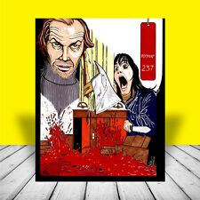 New THE SHINING artist signed Room 237 POSTER ART jack nicholson stanley kubrick