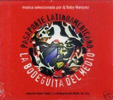 PASAPORTE LATINOAMERICANO Musica seleccionada CD Sealed