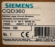 Siemens CQD360 Molded Case, 3 Pole, 60A Circuit Breaker - NEW