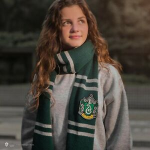 Official Warner Bros Licence Harry Potter Slytherin Scarf - Deluxe Edition