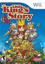 Little King's Story (Nintendo Wii) NTSC - RPG Simulation Town Management New