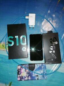 SAMSUNG GALAXY S10e Smartphone Handy Android in PRISM GREEN - Ohne Simlock, Nano