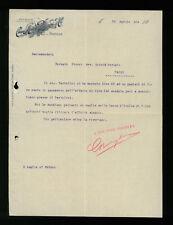 LETTERE COMMERCIALI MOLINI CHIARI MEDIOLI PEDERZINI & C. PARMA  1904