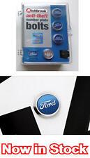 Ford Anti Robo matrícula Pernos genuino con licencia