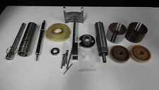 LOT OF USED LAM RESEARCH PARTS BEARINGS, SPINDLES, TUBE
