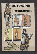BOTSWANA SCOTT # 479a TRADITIONAL DRESS S/s MNH