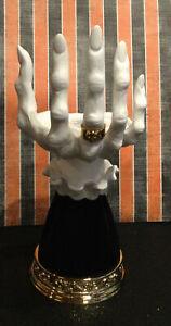 "New 2021 Bath & Body Works Halloween ""VAMPIRE HAND"" Candle Holder VHTF RARE"