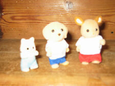 SYLVANIAN FAMILIES VINTAGE ROSE OF SYLVANIA*** BARGE PLAY FIGURES ACCESSORIES